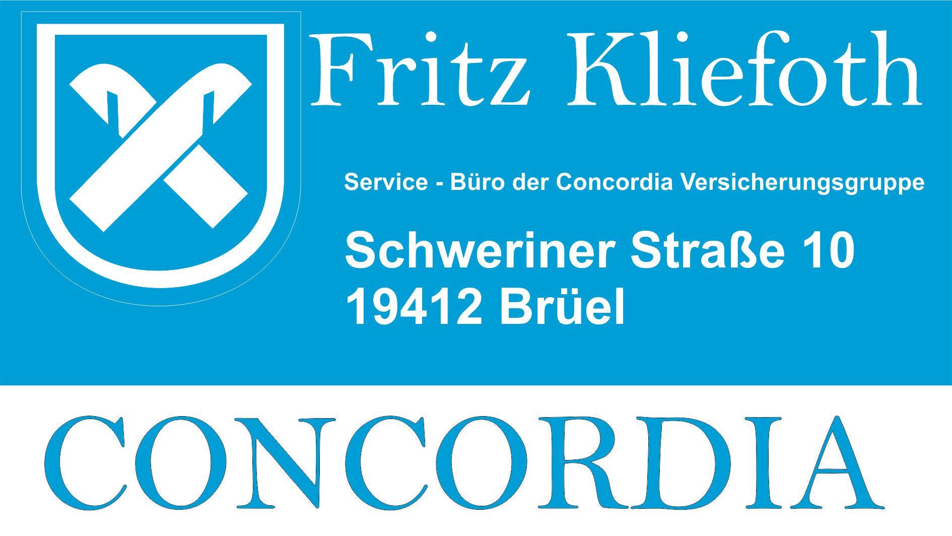 Concordia Versicherung Fritz Kliefoth
